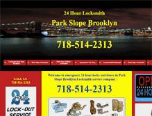 Tablet Preview of 24hourlocksmithparkslope.net